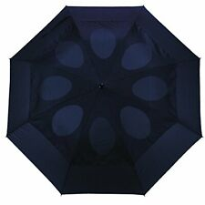 Windproof Umbrella, Folding Double Vented Rain Canopy with Strong Open Close