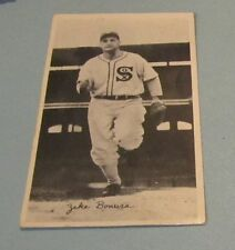 Vintage 1930's Zeke Bonura Baseball Photo Chicago White Sox 1st Baseman Sports