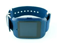 Sony SmartWatch 3 SWR-50 housing/adapter with blue NATO strap