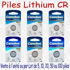 Pile Lithium 3V CR2016 CR2025 CR2032 CR2320 CR2325 CR2330 ... ( x 1 ou par Lot )