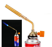 Outdoor Portable Ignition Butane Gas Torch Welding BBQ Flame Gun Lighter Burner
