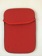 "FUNDA DE NEOPRENO 7"" PULGADAS PARA TABLET EBOOK COLOR ROJO"
