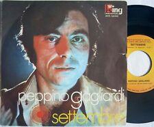 """Peppino Gagliardi SETTEMBRE/ PENSANDO A COSA SEI 45 7"""" AFK-56108 Italy 1970"""
