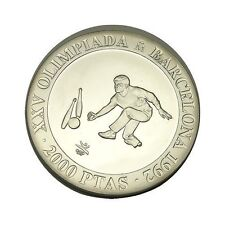 elf Spain 2,000 P 1991 Silver Olympic Games Bowling