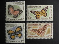 LAOS 101-3,C46 nice MNH butterflies stamps! Check the pictures!