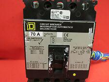 * Square D Fal340701212 70 Amp 3 Pole Circuit Breaker . Vc-100