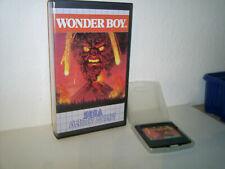 SEGA Game Gear Spiel Wonder Boy, guter Zustand