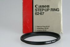 Canon Adapterring 62mm auf 67mm