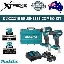 Makita 18V Cordless 2pce Lithium-Ion Brushless Combo Kit - DLX2221S