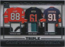 KANE / NASH / TAVARES 2016 ITG In The Game Used Triple Memorabilia PATCH 8/9