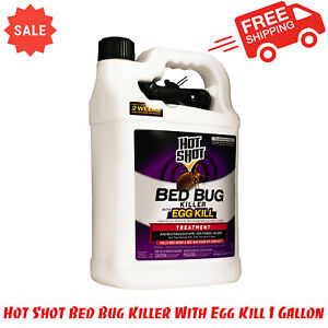 Hot Shot Bed Bug Killer With Egg Kill 1 Gallon, Ready-To-Use, Non-Staining