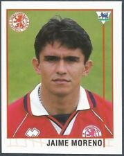 MERLIN 1996-PREMIER LEAGUE 96 - #498-MIDDLESBROUGH & BOLIVIA-JAIME MORENO