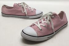 Converse All Star Womens Light Pink Canvas Low Top Sneakers Size 11