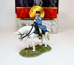 Conte REV020 American Revolution General George Washington On Horseback New