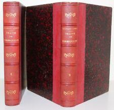 George COMBE Traité de Phrénologie 2 vol. reliés 1840 Bruxelles planche couleur