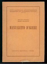 ERCOLI GIANNOTTI MANUALETTO D'IGIENE SATURNIA ANNI '50