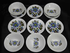 Green Staffordshire Pottery Bowls