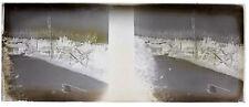 Soldats Guerre 14-18 Balkans Photo F3 Plaque de verre Stereo Negative