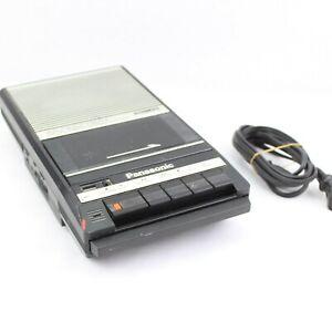 Vintage Panasonic RQ-2104 Slim Line Portable Cassette Tape Recorder TESTED WORKS