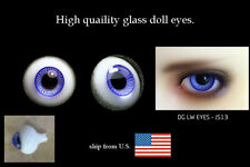 16mm navy blue color high quality glass bjd doll eyes dollfie luts JS-13 ShipUS