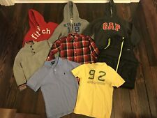 Youth Size Small Abercrombie Polo Lands End American Living Clothing Lot Of 8