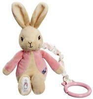 Rainbow Designs FLOPSY BUNNY JIGGLE ATTACHABLE Baby Toys Activities BN