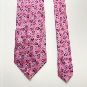 Brooks Brothers Golden Fleece Tie Pink  Silk Tie Black Label