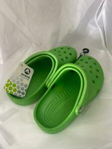 Crocs shoes for children, green