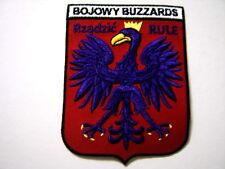USAF PATCH - 510th FIGHTER SQUADRON BOJOWY BUZZARDS FULL COLOR : GA18-1