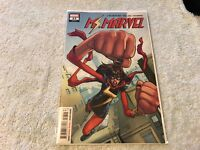 MS. MARVEL 22 LGY#52  variant cover  Marvel comic book