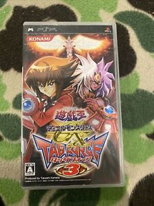 USED PSP YuGiOh! Duel Monsters GX Tag Force 3 43102 JAPAN IMPORT US Seller