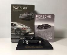 Kyosho 1:64 PORSCHE Collection 3 356A Speedster Diecast Car Model Black