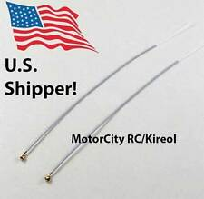 New Pair FrSky/Futaba/Orange/etc Receiver rx antennas - Replacement 15cm 150mm