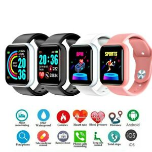 Waterproof Bluetooth Smart Watch Fitness Tracker For iphone IOS Android