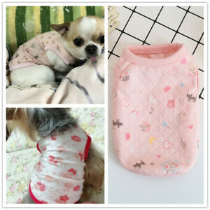 Dog clothes apparel T-shirt for Cat teacup or small dog puppy Yorkie Chihuahua