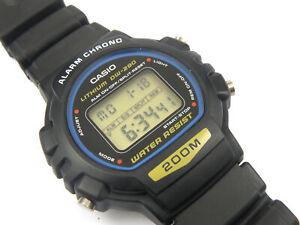 Mens Vintage CASIO DW-280 Digital Watch - 200m