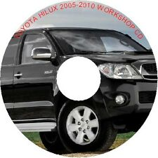 TOYOTA HILUX 2005-2011 WORKSHOP REPAIR MANUAL ON DATA CD