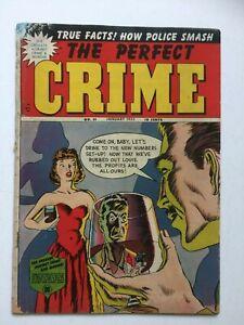 Perfect Crime #5, UNRESTORED, nice,