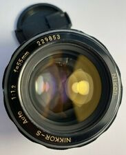 Nikon NIKKOR-S.C Auto 1: 1.2 f = 55mm