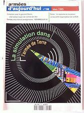Armées d'Aujourd'hui n°198 du 03/1995; La simulation dans l'armée de Terre