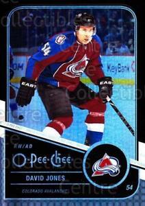 2011-12 O-Pee-Chee Black Rainbow #178 David Jones