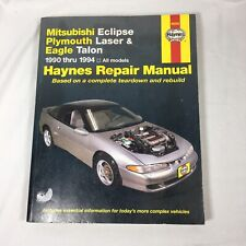 Haynes Publications 68030 Repair Manual Mitsubishi Eclipse 1990-1994