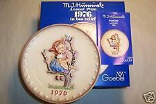 "Hummel Annual Plate 1976 ""  APPLE TREE GIRL "" MIB"