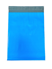 100 - 10x13 Blue Color Designer Poly Mailer Shipping Self Sealing Plastic Bags