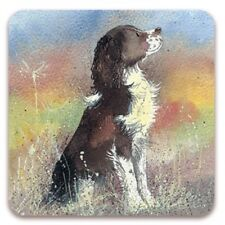 Jerry Corked Backed Coaster, Alex Clark, Dogs, Pets, Tea, Coffee, Fun Gifts C13