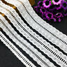5Yds Ruffled Stretch Trims Band Lace Dress DIY Sewing Ribbon 1.5/2.5/3.4/5cm