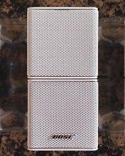 New listing Bose Jewel Double Cube Premium Speakers Mint Pristine Condition White