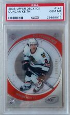 PSA 10 GEM MINT DUNCAN KEITH RC 2005-06 Upper Deck ICE PREMIERES Rookie
