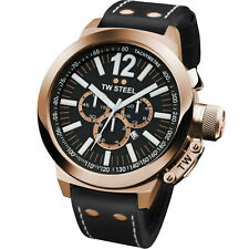 TW STEEL CEO Canteen Rose Gold Chronograph Watch CE1023 - RRP £475 - BRAND NEW