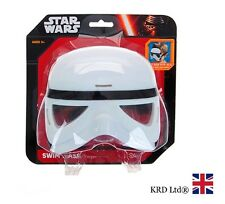 Star Wars STORM TROOPER Kids SWIM MASK Childrens Swimming Goggles Pool Glasses